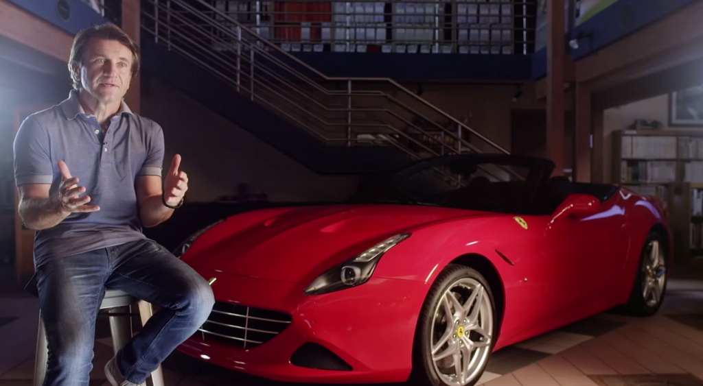Robert Herjavec on Ferrari: The Art of Innovation