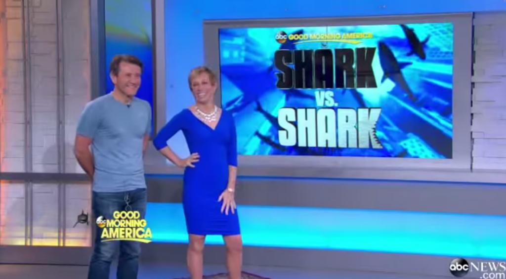 Good Morning America Shark vs Shark