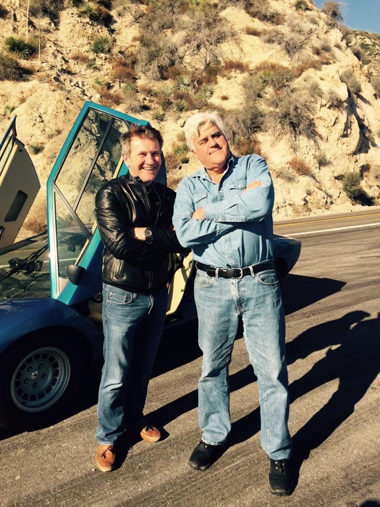 Robert with Jay Leno