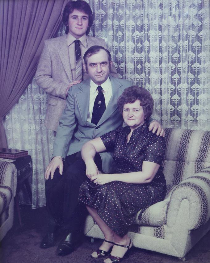robert and parents